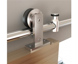 NT.1400.01W.SS -Top Mount for Wood Door