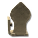 Spade Left Stop - Oil Rubbed Bronze