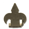 Fleur-de-Lis Right Stop - Black