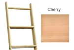 Library Ladder 10' Cherry, Unassembled, Unfinished