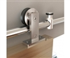 TOP MOUNT Stainless Steel 78 in. Door Hardware for WOOD Doors