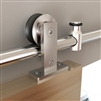 TOP MOUNT Stainless Steel Door Kit for WOOD Door