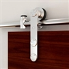 Stainless Steel STRAP 78 in. Door Kit for WOOD or GLASS Door
