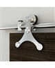 TRIANGLE STRAP Stainless Steel - 8 FT. Door Kit for WOOD or GLASS Door