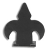 Fleur-de-Lis Center Guide - Black