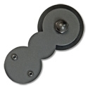 1-1/2 to 2-1/4 in. CIRCLES Hardware Kit (with 6 ft. Rail) - Long Bracket Kit