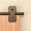 Notched Rectangle Strap - Oil Rubbed Bronze