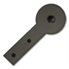 Round Stick Strap w/Roller - Oil Rubbed Bronze