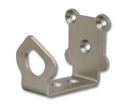 Universal Guide/Stop - 2 1/2 in., Satin Nickel