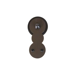 3/4 to 1-1/2 in. CIRCLES Hardware Kit - Short Bracket  (with 6 ft. Rail.