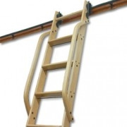 Wooden Hand Rails (2) - Red Oak