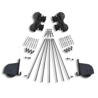 Rolling SWIVEL Contemporary Braking Hardware Kit