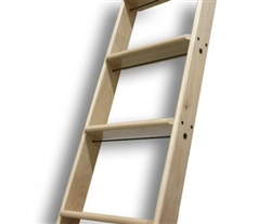 "OAK (RED) Ladder - Under 12 ft. (Order ""In Stock"" for 10 ft. ladder) QG.CL10.RO Includes Ladder, Steps (up to 9), Top Rung Requires Ladder Rung Supports - One per Step - (QG.620"