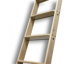 OAK (WHITE) Quarter Cut Ladder - Up to 9 ft.
