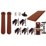 "QG.FR.1300.ST3.09 - NEW AGE RUST - Stick Strap Kit with 3"" Roller"