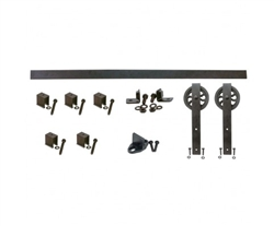 QG.FR1300.HK5.08 - BLACK Hook Strap Kit with 5 in. Wheel